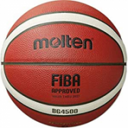 Basketball ball TOP competition MOLTEN B6G4500-X FIBA, synth. leather size 6  52,00