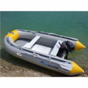 Viamare 330 Alu, PVC Inflatable Boat with Solid Bottom, 4+1 person(s)  849,00