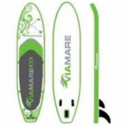 Viamare Inflatable SUP Board, 330 cm, 160 kg, Green, SUP Paddle  560,00