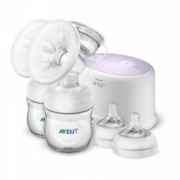 Philips Double electric breast pump Avent SCF334/31 White  174,00