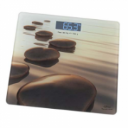 Gallet Personal scale Pierres beiges GALPEP951 Maximum weight (capacity) 150 kg, Accuracy 100 g, Photo with motive  16,00