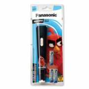 Panasonic Flashlight BF-BG01 Angry Birds Black LED, Black  11,00