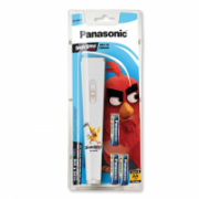 Panasonic Flashlight BF-BG01 Angry Birds White LED, White  11,00