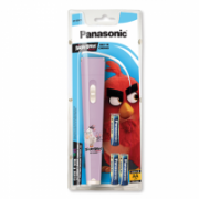 Panasonic Flashlight Flashlight BF-BG01 Angry Birds Pink LED, Pink  11,00
