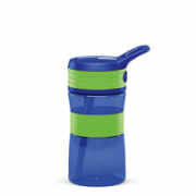Boddels EEN Drinking bottle Bottle,  Apple green/Blue, Capacity 0.4 L, Yes  14,00