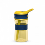 Boddels EEN Drinking bottle Bottle, Night blue/Yellow, Capacity 0.4 L, Diameter 7.5 cm, Yes  16,00