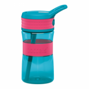 Boddels EEN Drinking bottle Bottle, Raspberry red/Turqouise blue, Capacity 0.4 L, Yes  16,00