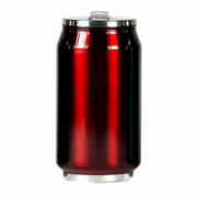 Yoko Design 1296-7674R  Isotherm tin can, Shiny Red, Capacity 0.5 L  19,00