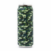 Yoko Design 1486-7945 Isotherm Tin Can, Soft touch Camouflage, Capacity 0.5 L,  20,00