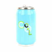 Yoko Design Isotherm tin can 1636 Light blue, Capacity 0.28 L, Diameter 6.9 cm, Yes  13,00