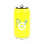 Yoko Design Isotherm tin can 1637 Yellow, Capacity 0.28 L, Diameter 6.9 cm, Bisphenol A (BPA) free  14,00