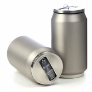 Yoko Design Isotherm Tin Can 280 ml, Soft touch silver  14,00