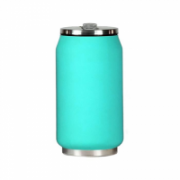Yoko Design Isotherm Tin Can 280 ml, Soft touch turquoise  14,00