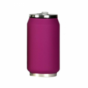 Yoko Design Isotherm Tin Can 280 ml, Soft touch violet  14,00