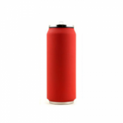 Yoko Design Isotherm Tin Can 500 ml, Soft touch red  19,00
