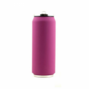 Yoko Design Isotherm Tin Can 500 ml, Soft touch violet  19,00