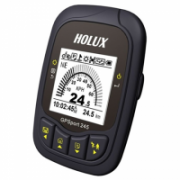 Holux GPSport 245 Lite GPS Sports Recorder/ LCD display/ Include Bike Mount, USB Cable/ IPX-6 Waterproof/ Show Speed, Time, Distance, Routes, Log, G-Finder/  201,00