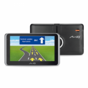 "Mio Truck navigation MiVue Drive 65 6.2"" touchscreen, Bluetooth, GPS (satellite), Traffic Message Channel (TMC), Maps included  236,00"