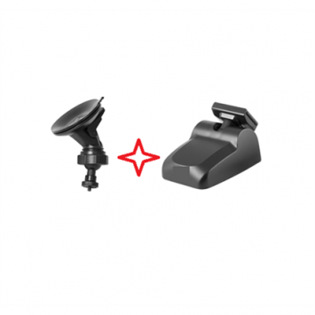 Navitel Two handles (3M tape and suction cup) for Navitel R800/MSR900