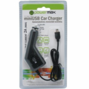 PowerMax Car Charger PPC002 12-24V>5V 2A miniUSB, for Mobile Phones, GPS (TomTom, Garmin, other) Powermax  10,00