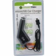 PowerMax Car Charger PPC005 12-24V>5V2A microUSB, for Smartphones, GPS (Garmin) Powermax  10,00