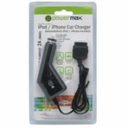 PowerMax Car Charger PPC006 12-24V>5V 2A for iPhone, iPad, iPod Powermax  10,00