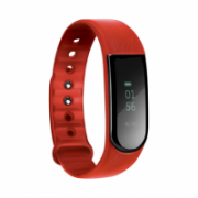 Acme Activity tracker HR ACT202R OLED, Red, Touchscreen, Bluetooth, Built-in pedometer, Heart rate monitor,  43,00