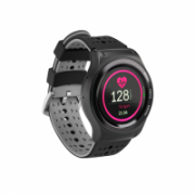 Acme Smartwatch with GPS HR SW301  Touchscreen, Bluetooth, Heart rate monitor, Black, Automatic and manual, GPS (satellite), Black,  69,00
