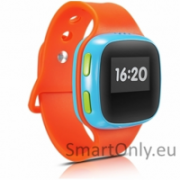 Alcatel Movetime Kids Watch SW10-2J Smart watch, Orange/Blue, 380 mAh, Wi-Fi, Bluetooth, GPS (satellite), Waterproof, Warranty 1 year(s)  72,00