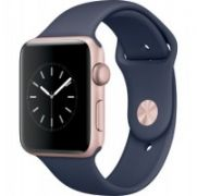 Apple Watch Series 2 42mm Rose Gold Aluminium Case with Midnight Blue Sport Band 1yw  522,00