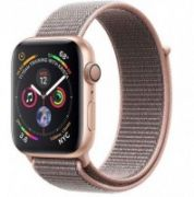 Apple Watch Series 4 GPS, 40mm Gold Aluminium Case with Pink Sand Sport Loop  435,00