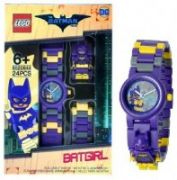 Clock with embedded The Lego® Batman Movie, Batgirl™minifigure  21,00