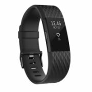 Fitbit Charge 2 Black Gunmetal - Small Waterproof, Buttons, Touch, Heart rate monitor, Touchscreen, Bluetooth  189,00