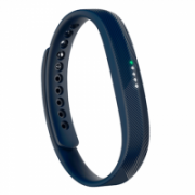 Fitbit Flex 2 Activity and sleep wristband FB403NV-EU Navy, LED display with 5 indicator lights, Navy, Bluetooth, Built-in pedometer, Waterproof,  72,00
