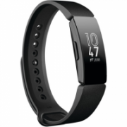 Fitbit Inspire Fitness tracker, OLED, Touchscreen, Activity monitoring 24/7, Waterproof, Bluetooth, Black  72,00