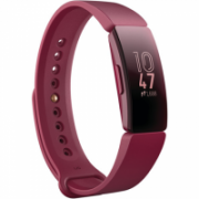 Fitbit Inspire Fitness tracker, OLED, Touchscreen, Activity monitoring 24/7, Waterproof, Bluetooth, Sangria  72,00