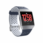 Fitbit Ionic Adidas edition Smart watch, GPS (satellite), LCD, Touchscreen, Heart rate monitor, Activity monitoring 24/7, Waterproof, Bluetooth, Navy/White  307,00