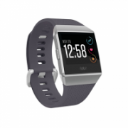 Fitbit Ionic Smart watch, GPS (satellite), Colour LCD, Touchscreen, Heart rate monitor, Activity monitoring 24/7, Bluetooth, Blue-gray/white  270,00