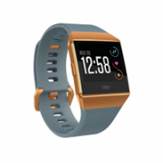 Fitbit Ionic Smart watch, GPS (satellite), Colour LCD, Touchscreen, Heart rate monitor, Activity monitoring 24/7, Waterproof, Bluetooth, Slate blue/burnt orange  270,00