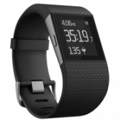 Fitbit Surge, Large Smartwatch, Black, Touchscreen, Bluetooth, Heart rate monitor, Waterproof  226,00