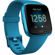 Fitbit Versa Lite Fitness Tracker FB415BUBU OLED, Marina Blue, Touchscreen, Bluetooth, Built-in pedometer, Heart rate monitor, Waterproof  159,95