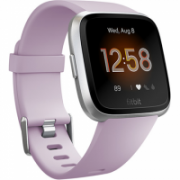 Fitbit Versa Lite Fitness Tracker FB415SRLV LCD, Lilac/Silver Aluminum, Touchscreen, Bluetooth, Built-in pedometer, Heart rate monitor, Waterproof  159,95