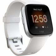 Fitbit Versa Lite Fitness Tracker FB415SRWT OLED, White/Silver Aluminum, Touchscreen, Bluetooth, Built-in pedometer, Heart rate monitor, Waterproof  159,95