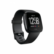 Fitbit Versa (NFC) smartwatch Color LCD, Touchscreen, Heart rate monitor, Bluetooth, Black  197,00
