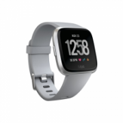 Fitbit Versa (NFC) smartwatch Color LCD, Touchscreen, Bluetooth, Heart rate monitor, Gray / Silver Aluminum  199,95