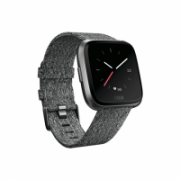 Fitbit Versa (NFC) smartwatch Color LCD, Touchscreen, Bluetooth, Heart rate monitor, Special Edition Charcoal Woven  232,00