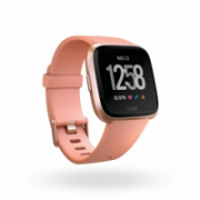 Fitbit Versa (NFC) smartwatch Color LCD, Touchscreen, Bluetooth, Heart rate monitor, Peach / Rose Gold Aluminum  199,95