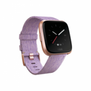Fitbit Versa Smart watches, LCD, Touchscreen, Heart rate monitor, Activity monitoring 24/7, Waterproof, Bluetooth, Lavender Woven  229,95