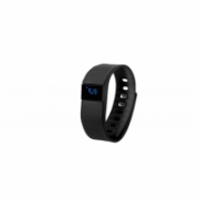 GoClever GCWSBB, Smart band black, Silicone, Colour LCD. Bluetooth. Notification of incoming phone calls and sms.  19,00