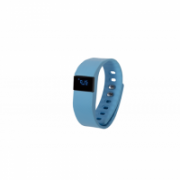 GoClever GCWSBB, Smart band blue, Silicone, Colour LCD. Bluetooth. Notification of incoming phone calls and sms.  19,00